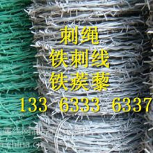 斜纹编织冷热镀锌铁刺线的生产厂家