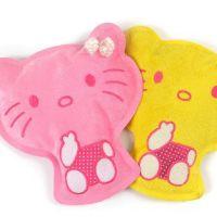 特价绒布卡通热水袋 电热水袋 暖手宝 热水袋批发 黄、粉猫混批
