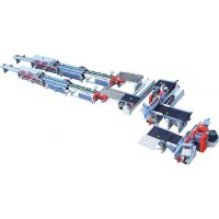 上海容安实木设备厂家供应、自动梳齿接长线、苏州自动集成材生产线、南京梳齿接长线、全自动指接生产线