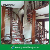 深圳市意美登楼梯供应阁楼/复式楼实木旋转楼梯YMD-0903