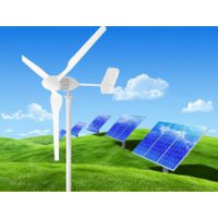 5KW风光互补电站家用/工厂用风力发电机和太阳能发电