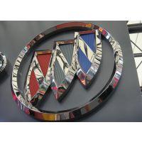 厂家供应软标 定制车标 三维立体标牌制作 软标牌批发