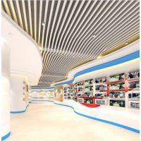 上海弧形铝方通 木纹弧形铝方通 拉弯铝方通订制