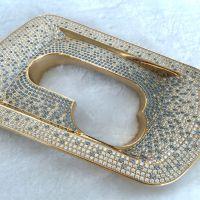 五金电镀厂 专业表面处理 奢侈品电镀加工 镶钻镀金