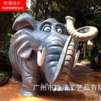 定制园林景观雕塑小品,仿真动物摆件!