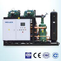 供应HLGF-40MH系列半封闭中温螺杆冷凝机组、并联机组 风冷单机中温冷凝机组 美乐柯冷凝机组直销