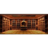 供应实木酒窖家具,整木家具私人订制