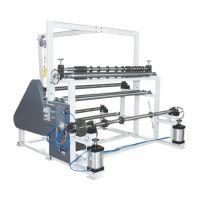 纸管机械 河北天晟1600A型双轴原纸分切机