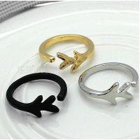 定做时尚金属首饰饰品 个性指环 锌合金开口戒指
