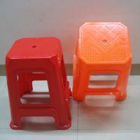 厂家批发塑料家用大方椅子 防滑浴室方凳 板凳  高凳 加厚餐桌凳