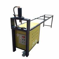一次定型液压不锈钢管打孔机K1-RO80厂家专业生产锌钢护栏冲口机