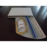 深圳毅宏光通信24口19英寸旋转式光纤终端盒 光纤配线架金属盒体 机架固定安装