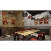 合肥小餐饮店装修 门面装修设计 小空间大利用