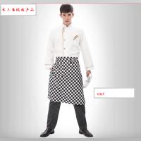 厨师服短袖西餐厅饭店厨师工作服长袖白食堂蛋糕烘焙师男女厨师服