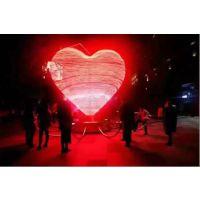 年轻人互动道具城市之心出租LED城市之心灯光出租租赁