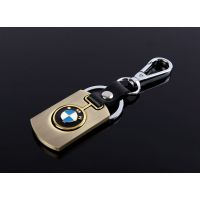 供应定做车钥匙挂件 锌合金不锈钢拉丝片锁匙扣定做