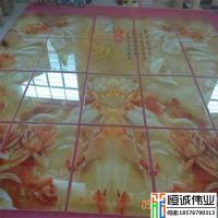 厂家直销 3D仿玉石瓷砖背景墙制作设备/陶瓷UV平板打印机