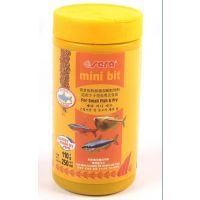 供应水族产品喜瑞小型鱼鱼食鱼饲料110G观赏鱼特级颗粒饲0211