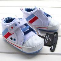 (特价)原单男宝婴儿学步软胶底鞋5135B