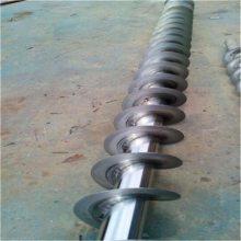 219管径3米硬管螺旋颗粒粉料提升机定做 南宫固定式绞龙螺旋提升机