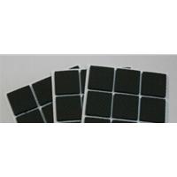 供应厂家低价防滑橡胶垫片 自粘透明硅胶垫片 缓冲减震垫
