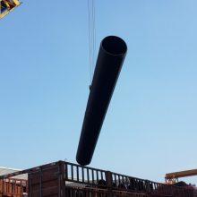 大口径市政工程PE钢带波纹管国标钢带环刚度强