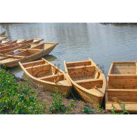 4米湖面手划船 精品欧式木船 景区木质手划船 户外钓鱼船 厂家直销