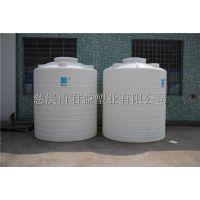 厂家直销江西塑料大桶5000L,余干县5立方圆形PE大罐