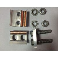 万协特价现货供应 铜铝异型并沟线夹 JBTL-50-240钎焊