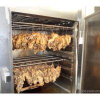 供应烤鸡烟熏炉,烤鸡烟熏炉价格,得利斯牌烤鸡烟熏炉