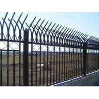 学校围墙铁艺防护围栏 市政防爬安全栏杆 带尖头