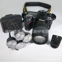 秀田XT-4 摄影灯 LED灯 适用于 佳能尼康索尼宾得松下等单反相机