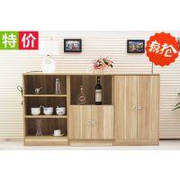 板式家具批发特价餐边柜储物收纳柜 厨房柜 红酒柜