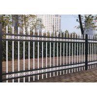 小区围墙锌钢栅栏@ 喷塑方管护栏 @新型组装式围栏