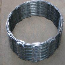 刀片钢丝绳 镀锌铁丝网 带刺钢丝网