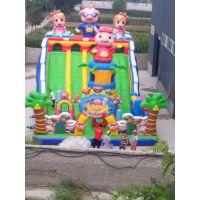 儿童户外大型充气玩具 儿童游乐设备厂家 充气跳跳床厂家生产直销