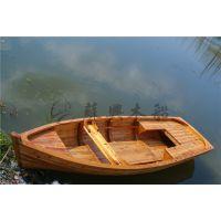3.5m圆底欧式木船 一头尖手划船 农用捕鱼小木船 大小款式可订做