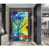 现代抽象简约创意壁纸客厅电视背景墙纸艺术定制壁画