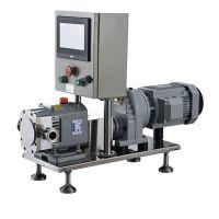 TLS变频控制型凸轮转子泵|浓缩果汁泵