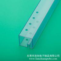 货期准时塑料变压器包装管 广东厂家直销pvc包装方管