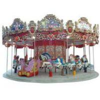 24座转马 儿童乐园设备设施 梦幻转马 大型户外游乐设备
