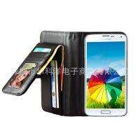 三星S5 手机皮套 多功能钱包 S5 mini 迷你左右开保护套手机壳