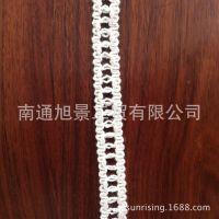 供应【厂家直销】钩编花边 花边厂家 全棉花边 类似于手工编织
