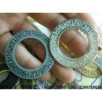 金属圆环 锌合金串环吊牌  服装辅料饰品厂家直销高档锌合金圆环