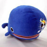 逸萌 海贼王鲨鱼毛绒玩具 创意玩偶 外贸定制 可来图定制