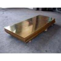 深圳厂家加漆膜黄铜板H68哪家好20mm铜板耐磨特惠