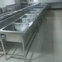 广州方联供应不锈钢水槽 304组合水槽 工厂不锈钢洗手盆