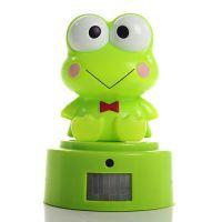新款卡通青蛙迎宾器 红外人体感应分体迎宾器 欢迎光临感应门铃