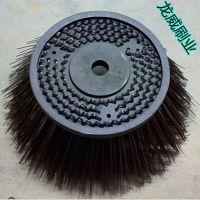 扫地车钢丝圆盘刷 高耐磨不锈钢丝刷 直径320mm盘刷批发厂家