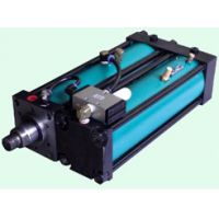 并列式气液增力缸